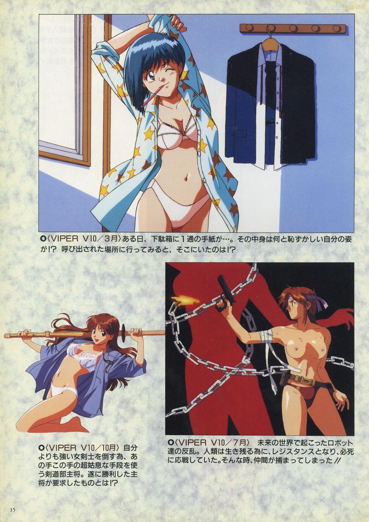 VIPER Series Official Artbook 33