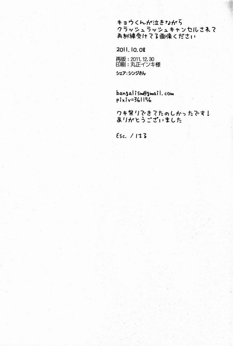 Kyou-kun ga Naki Nagara Crush Rush Cancel Sarete Saikunren Uketeru Gazou Kudasai 12