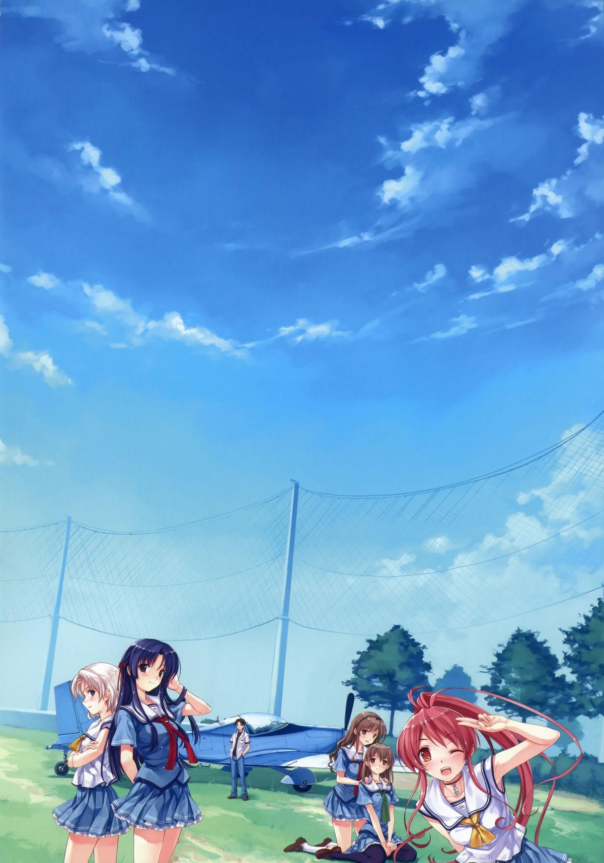 Suiheisen made Nan Mile? Smile Cubic! Visual Fanbook 8