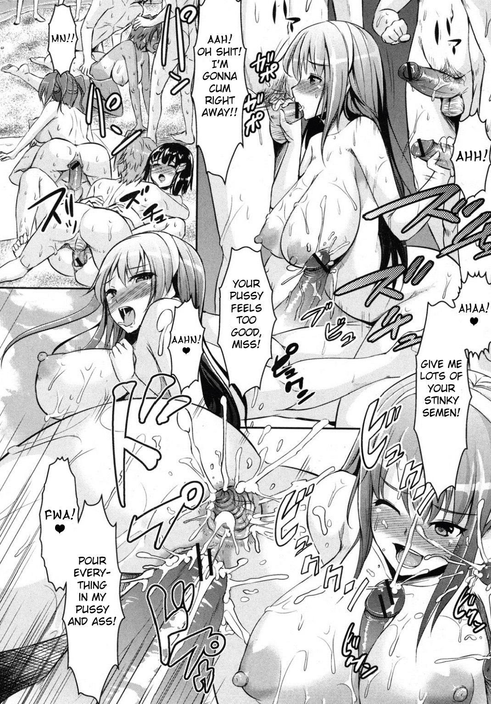 Manatsu no Shiro Hime Gakuen Seitokai | Student Council Beauties in Midsummer 15