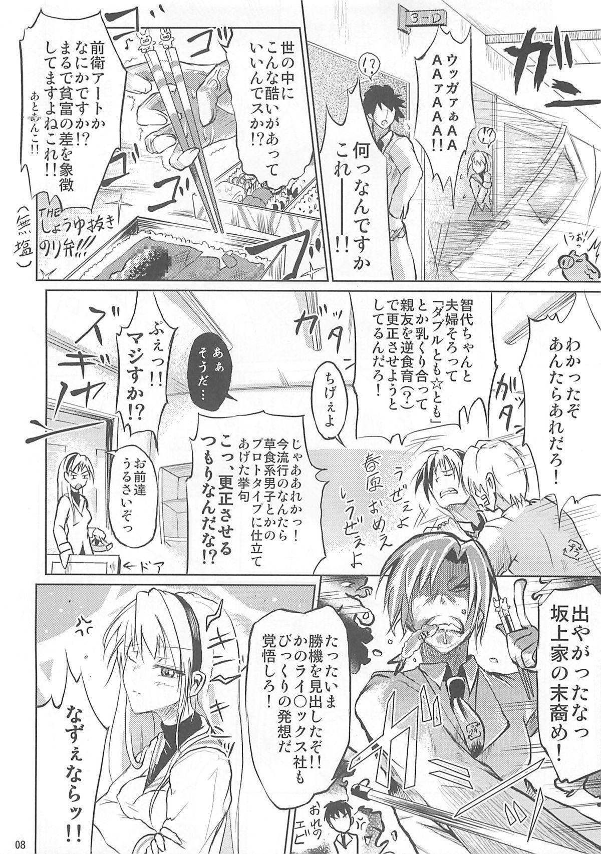 Ashi no Kirei na T-san wa Shimari ga Ii 7