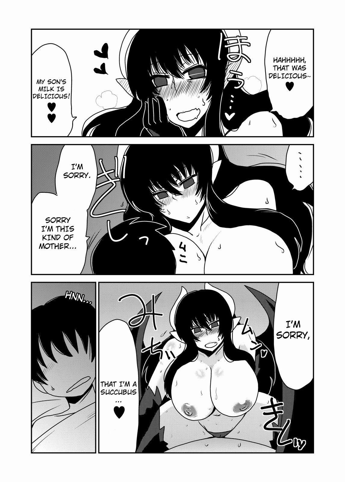 Succubus na Okaa-san. | Succubus Mother 8