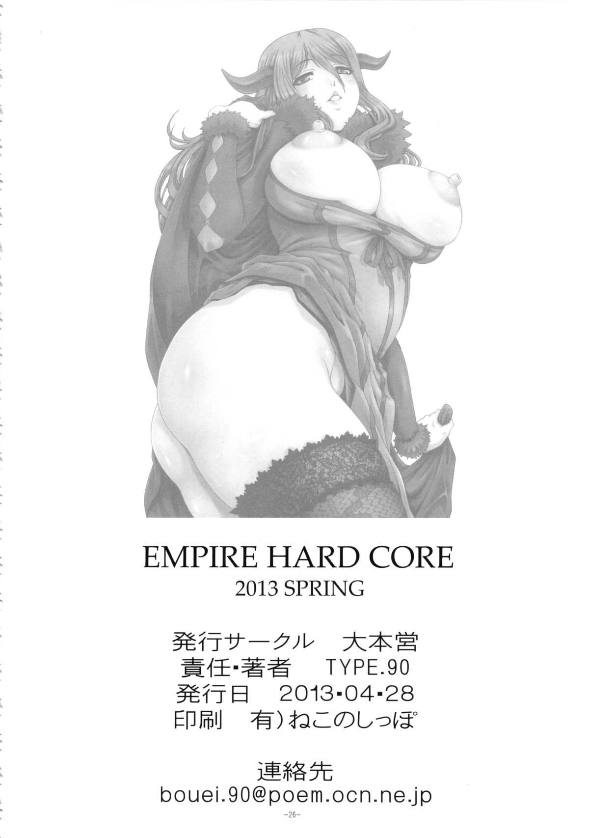 EMPIRE HARD CORE 2013 SPRING 24