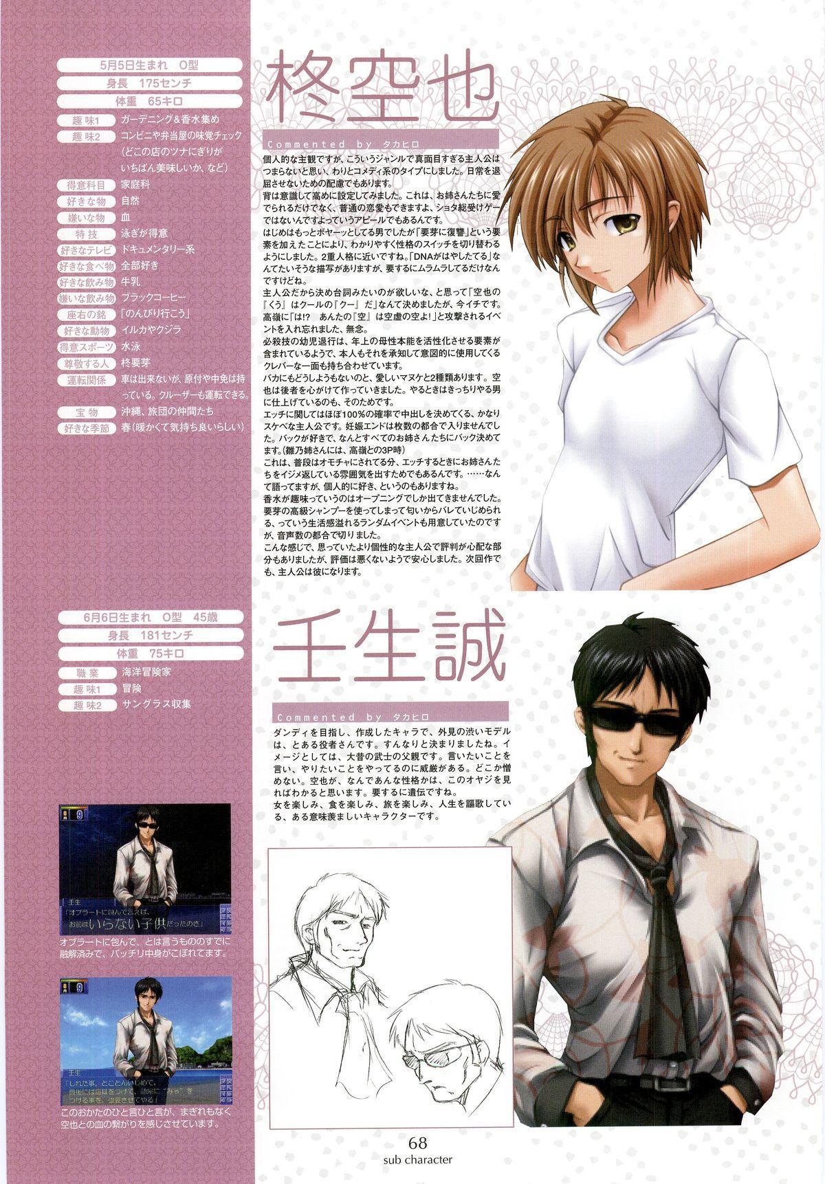 Nee, Chan to Shiyou yo! Koushiki Fanbook - Ai to Batou no Hibi 59