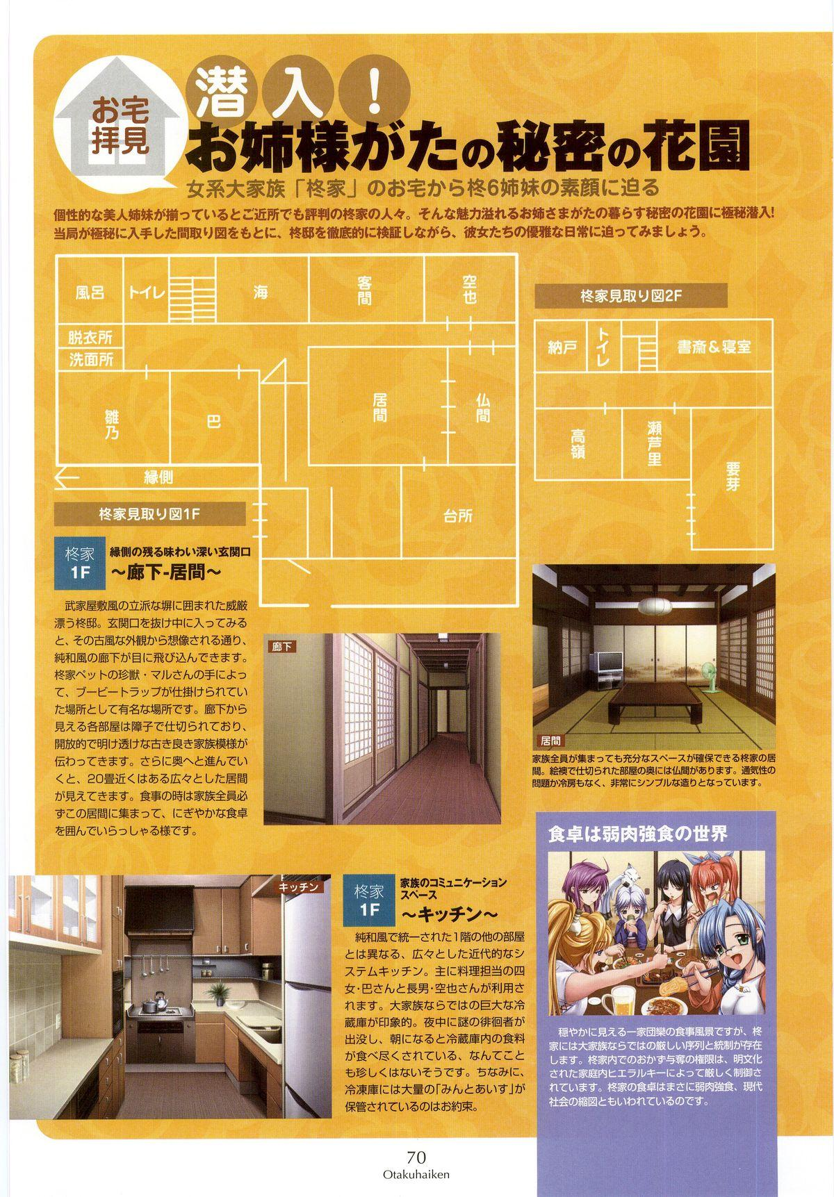 Nee, Chan to Shiyou yo! Koushiki Fanbook - Ai to Batou no Hibi 61