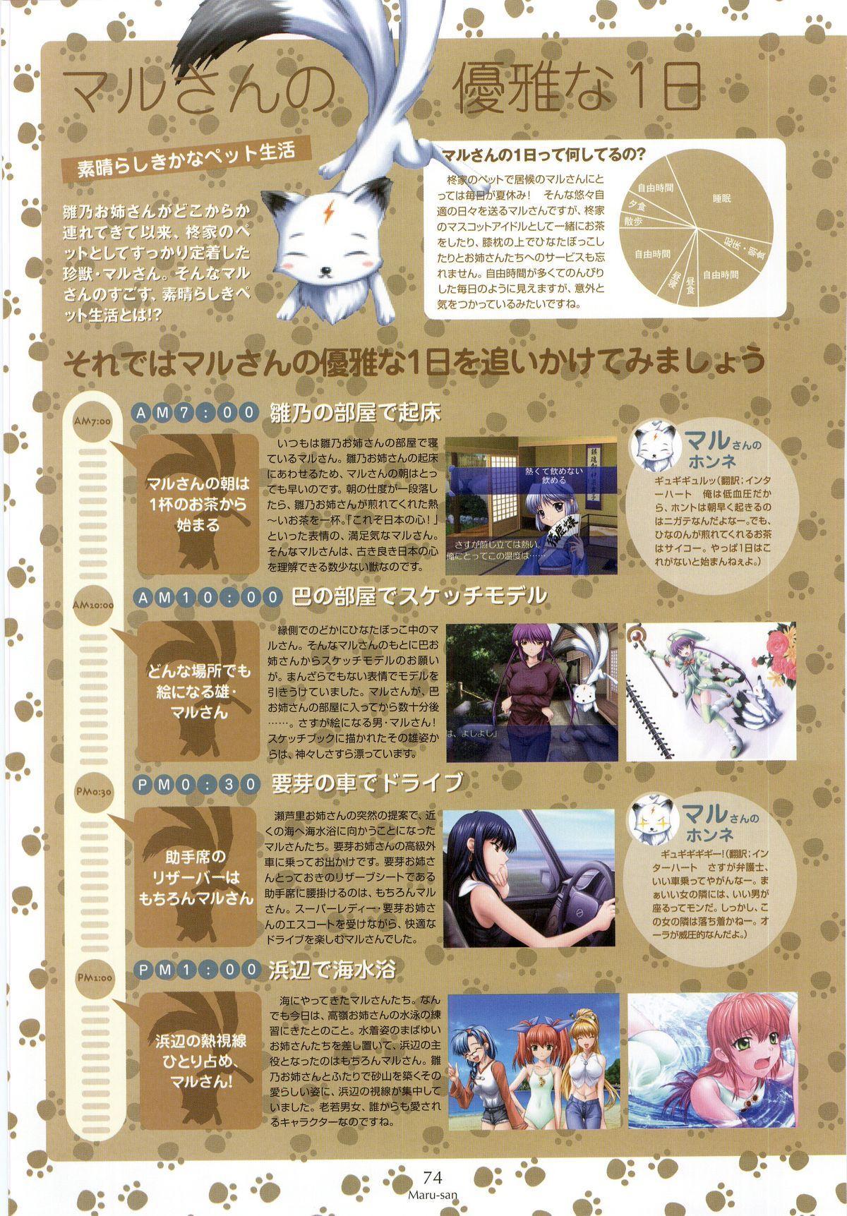Nee, Chan to Shiyou yo! Koushiki Fanbook - Ai to Batou no Hibi 65