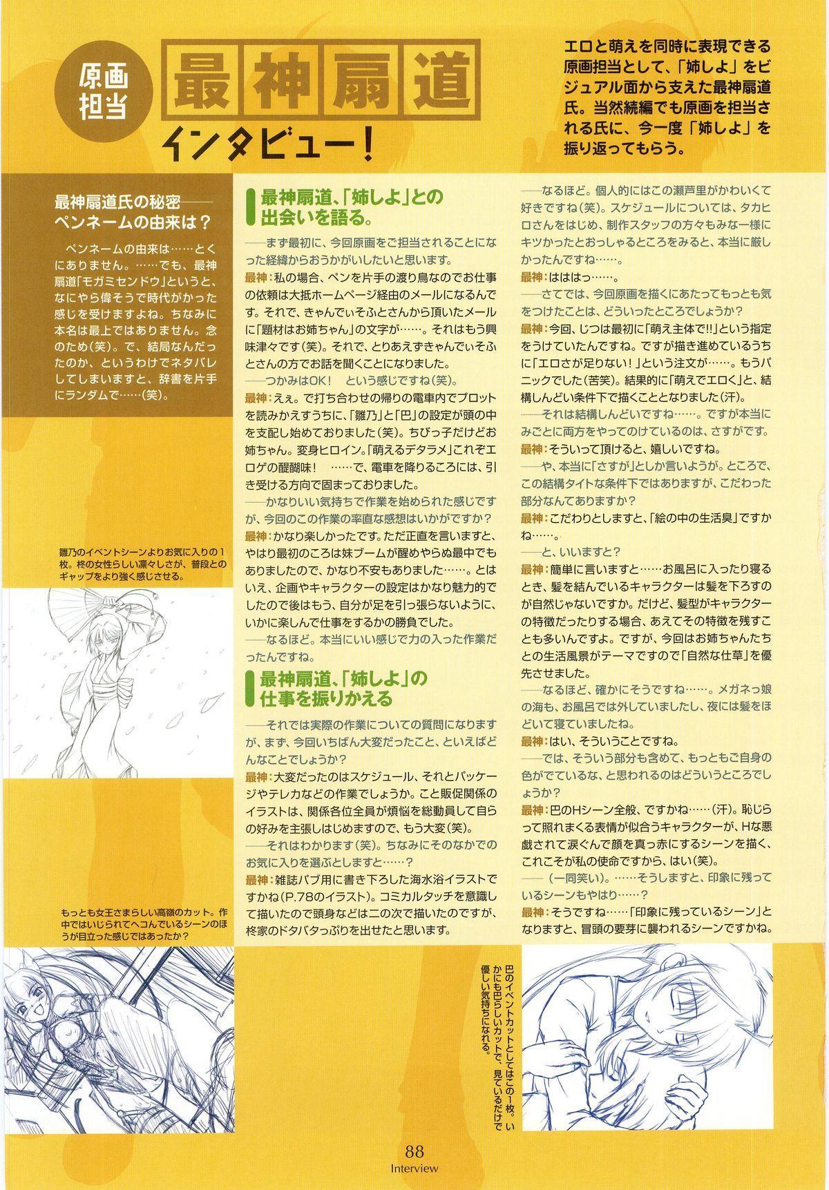Nee, Chan to Shiyou yo! Koushiki Fanbook - Ai to Batou no Hibi 79