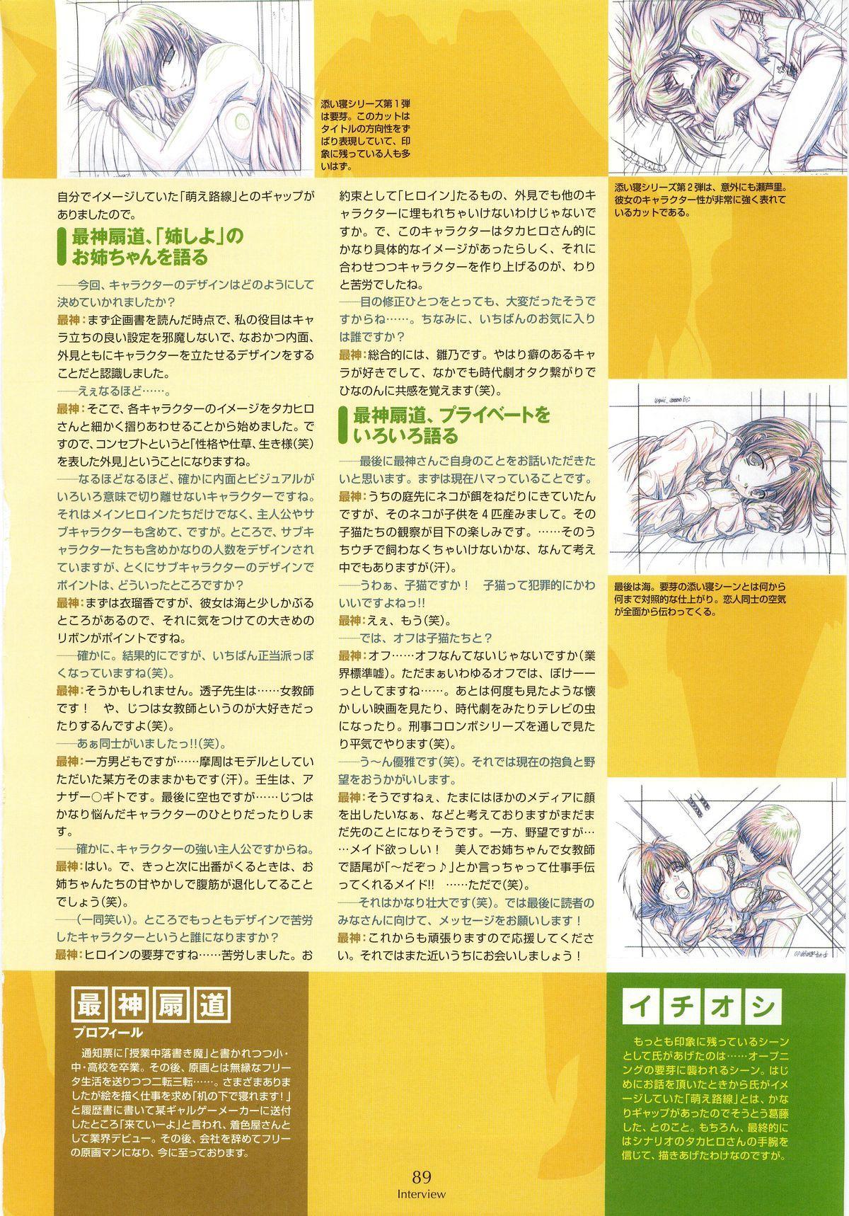 Nee, Chan to Shiyou yo! Koushiki Fanbook - Ai to Batou no Hibi 80