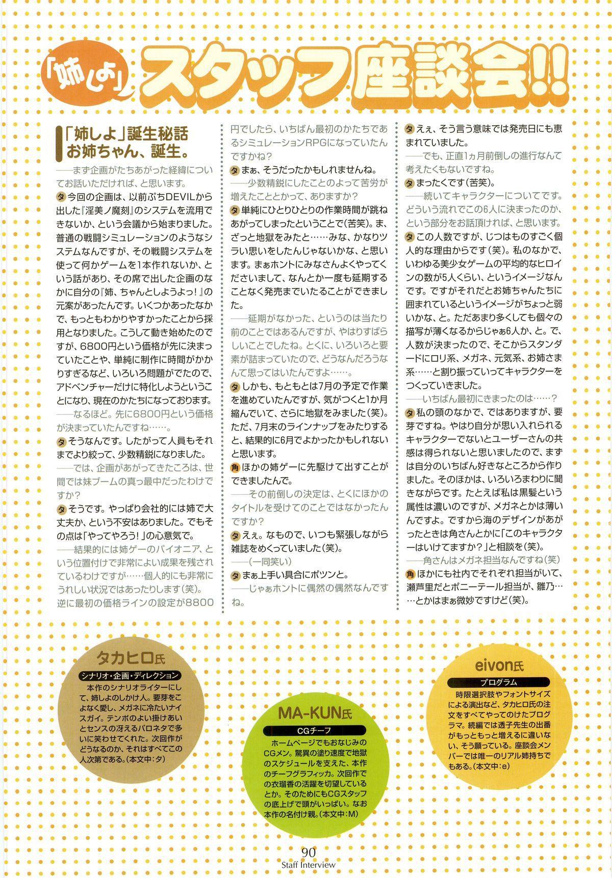 Nee, Chan to Shiyou yo! Koushiki Fanbook - Ai to Batou no Hibi 81