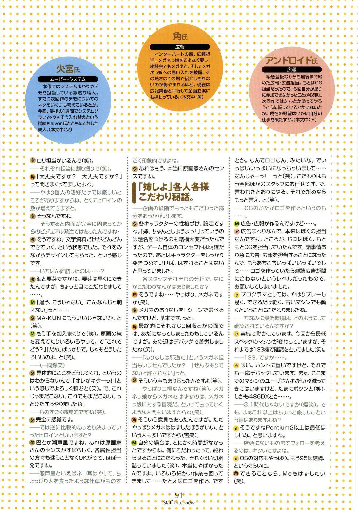 Nee, Chan to Shiyou yo! Koushiki Fanbook - Ai to Batou no Hibi 82