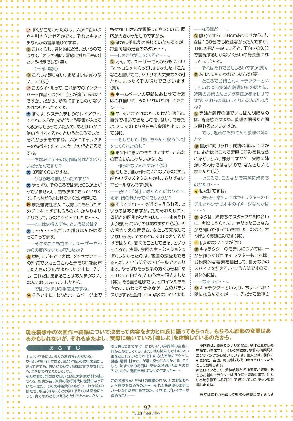 Nee, Chan to Shiyou yo! Koushiki Fanbook - Ai to Batou no Hibi 83
