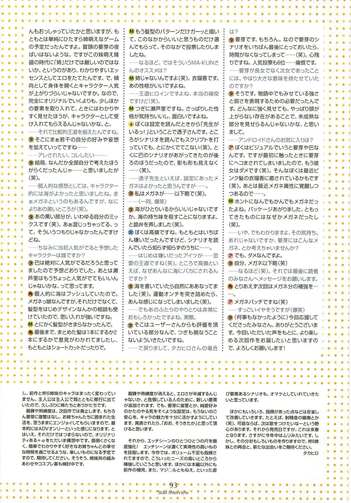 Nee, Chan to Shiyou yo! Koushiki Fanbook - Ai to Batou no Hibi 84