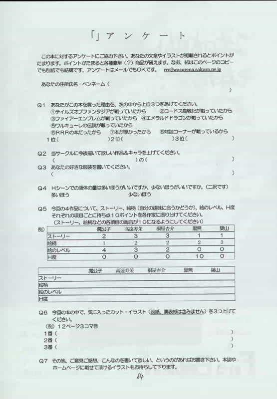 Genen Natsukashi no RPG Tokushuu 62